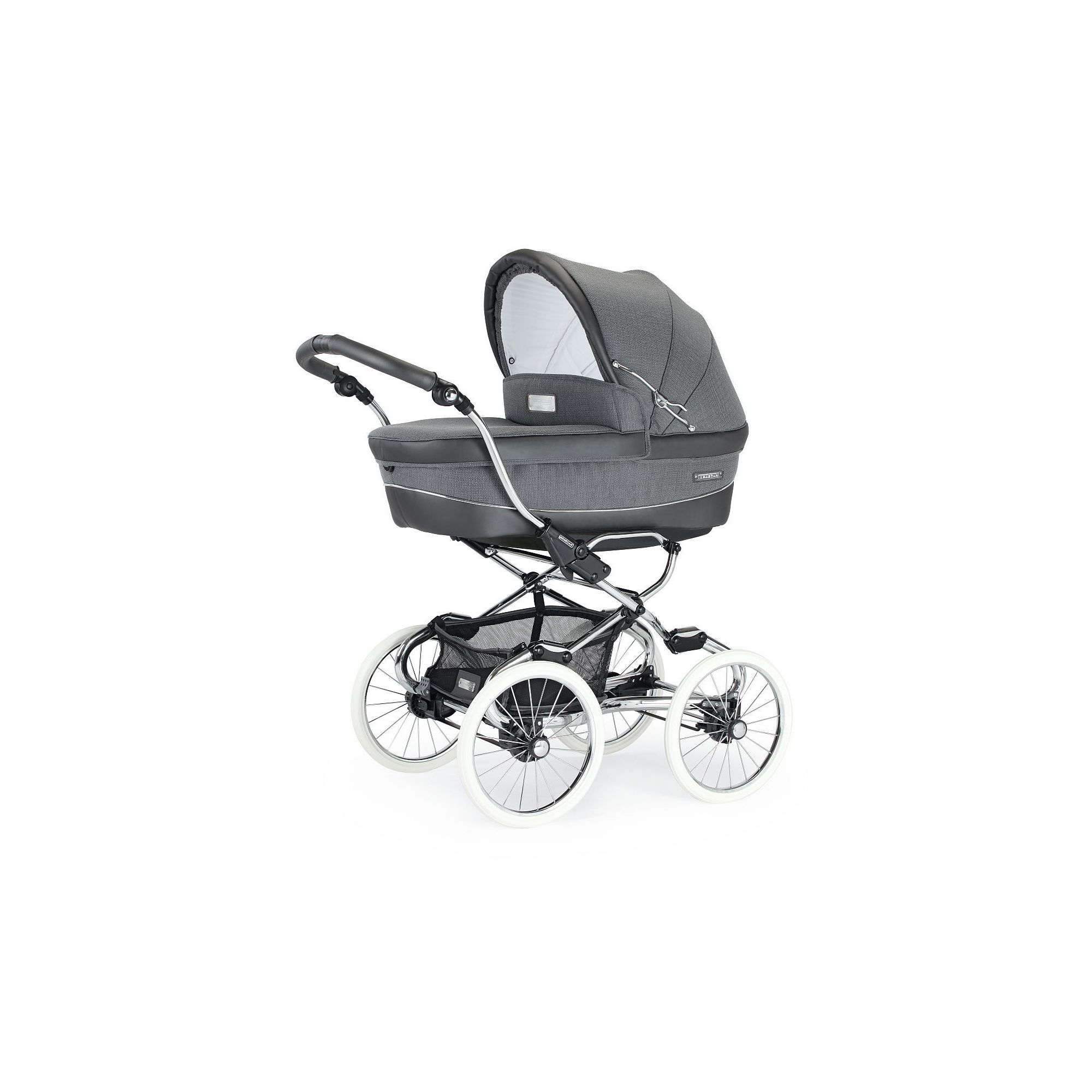Bebecar Stylo Class Combination Pram, Pewter at Tescos Direct