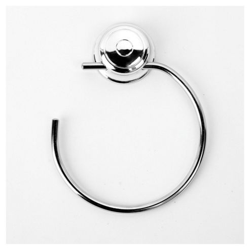 Croydex Twist & Lock towel ring