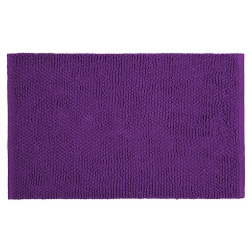 Tesco Chenille Loop Mat Purple