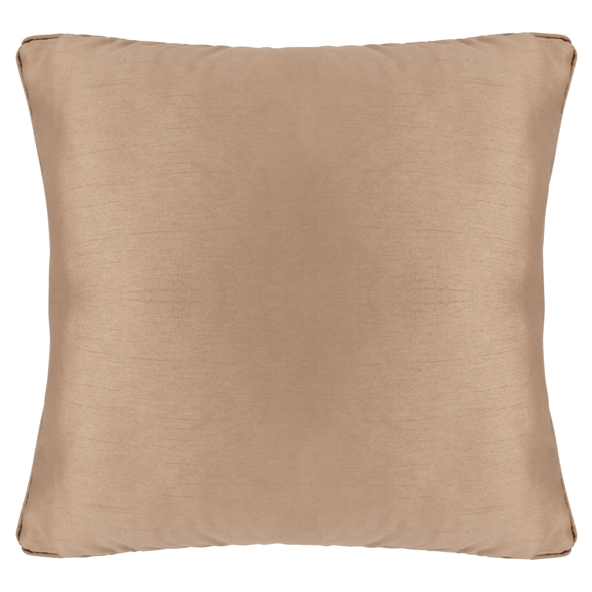 Tesco Set of 2 Faux Silk cushions, gold