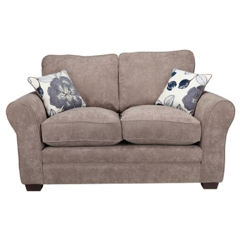 Amelie Small 2 seater  Standard Back Fabric Sofa Charcoal