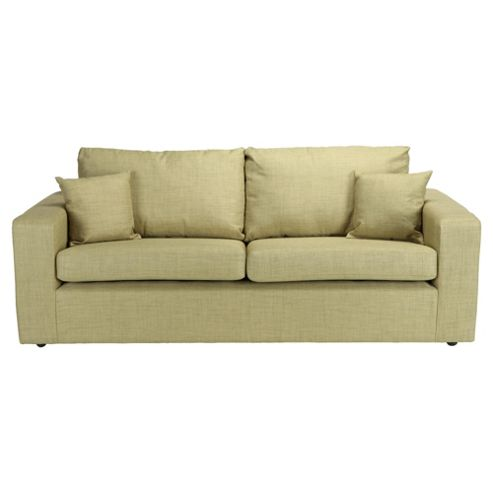 Maison Fabric Large 3 Seater Sofa Pistachio