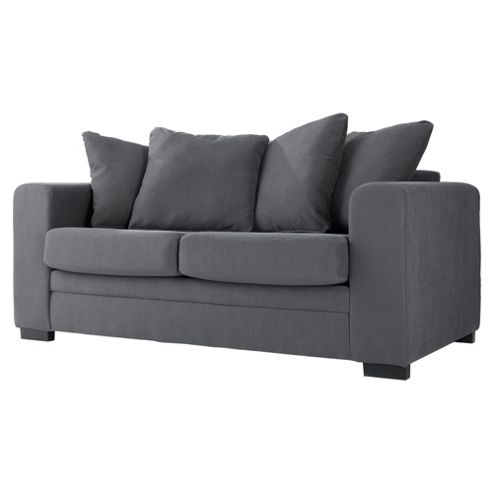 Amy Fabric Sofa Bed Charcoal