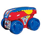 Mega Bloks First Builders Play n Go Wagon