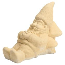Stone Gnome Sleeping  Ornament
