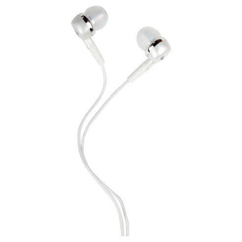 RadioPaq Trio Earphones With Microphone Smartphones White