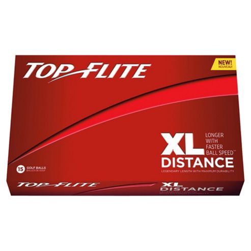 Top Flite XL Distance 15 Golf Ball Pack Red