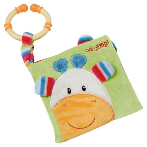 BabyFehn Soft Picture Book with Teething Ring