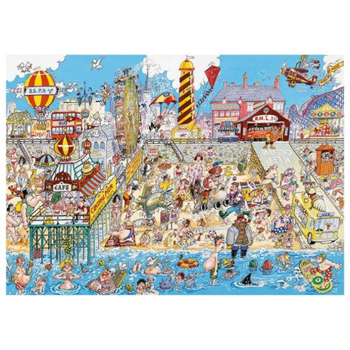 The Great British Seaside 1000 Piece Jigsaw
