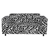 Stanza Fabric Medium Sofa Zebra