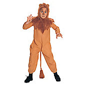 Cowardly Lion - Child Costume 4-6 years