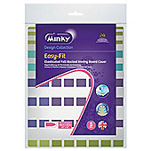 Minky easy fit ironing board cover 110 x 35cm (colours and styles may vary)
