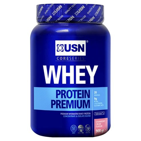 USN 100% Whey Protein Strawberry 908g