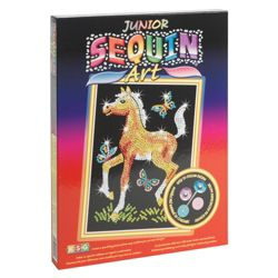 KSG Crafts Junior Sequin Art Foal