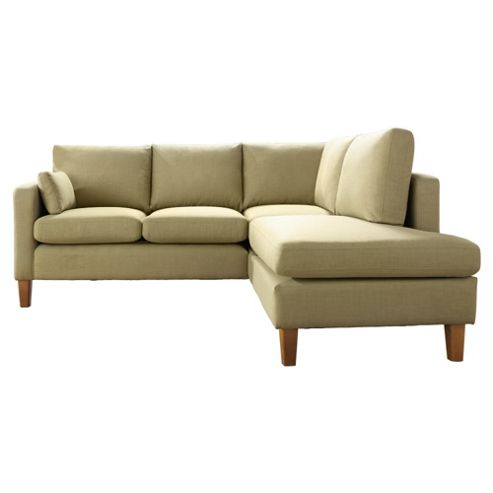 Sheldon Corner Fabric Sofa Pistachio Right Hand Facing