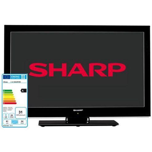 Sharp LC22LE510K 22inch HD Ready LED Backlight TV