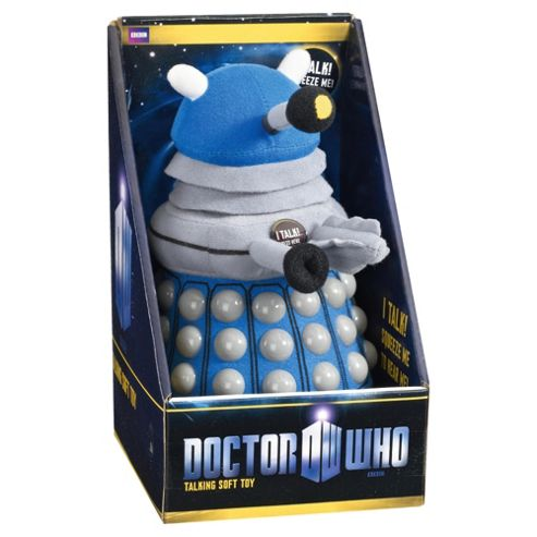 Doctor Who Medium Soft Talking Dalek Plush Blue
