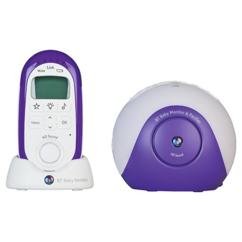 buy bt digital baby monitor and pacifier from our digital range tesco. Black Bedroom Furniture Sets. Home Design Ideas