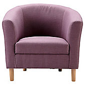 Tub Fabric Accent Chair Heather