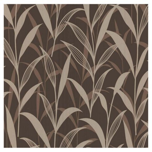 Dulux Linden Wallpaper, Chocolate