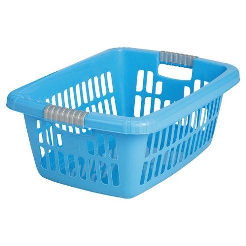 Laundry basket, blue