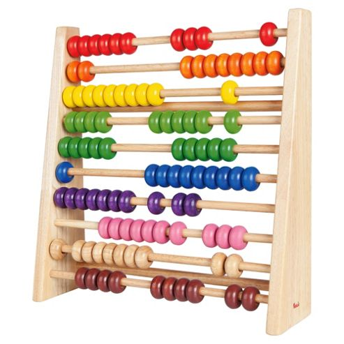 Voila Rainbow Abacus Wooden Toy