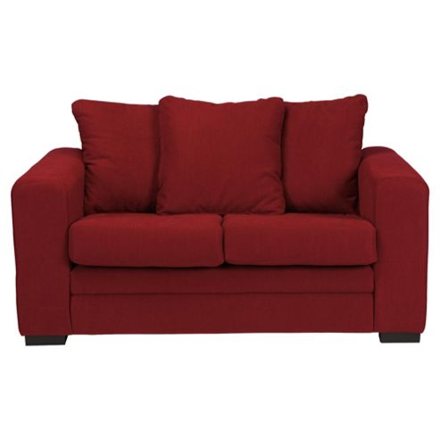 Amy Small Fabric Sofa Red