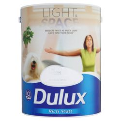 Dulux Light&Space Matt Absolute White 5l