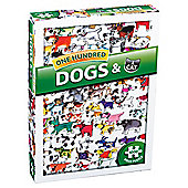 One Hundred Dogs & A Cat 1000 piece puzzle