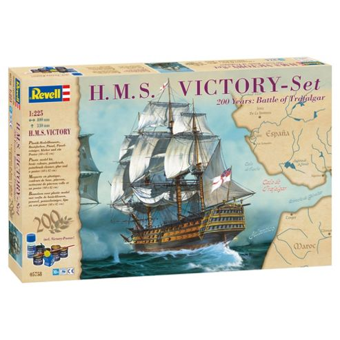 Revell Gift Set H.M.S Victory 1:225 Scale Model Set