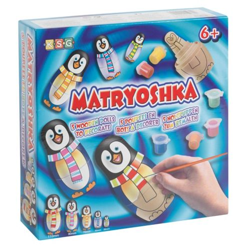 Matryoshka Penguin Dolls