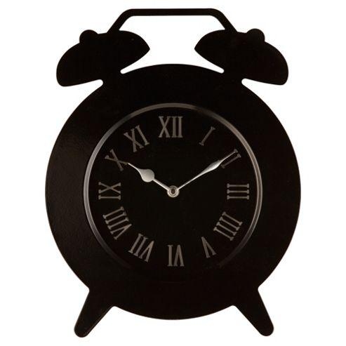 Tesco Clocks Double Bell Wall Clock