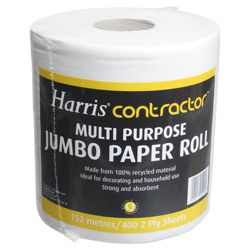 Harris multipurpose jumbo paper roll