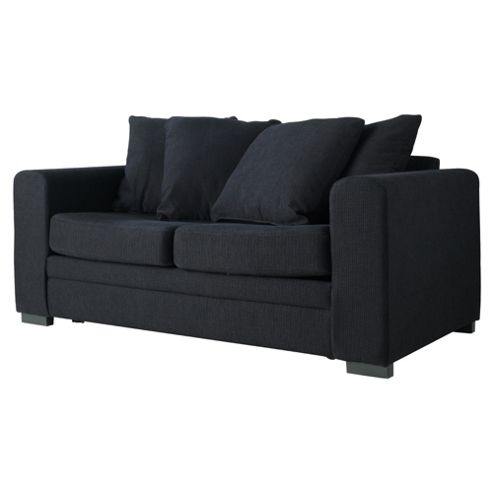 Amy Fabric Sofa Bed Black