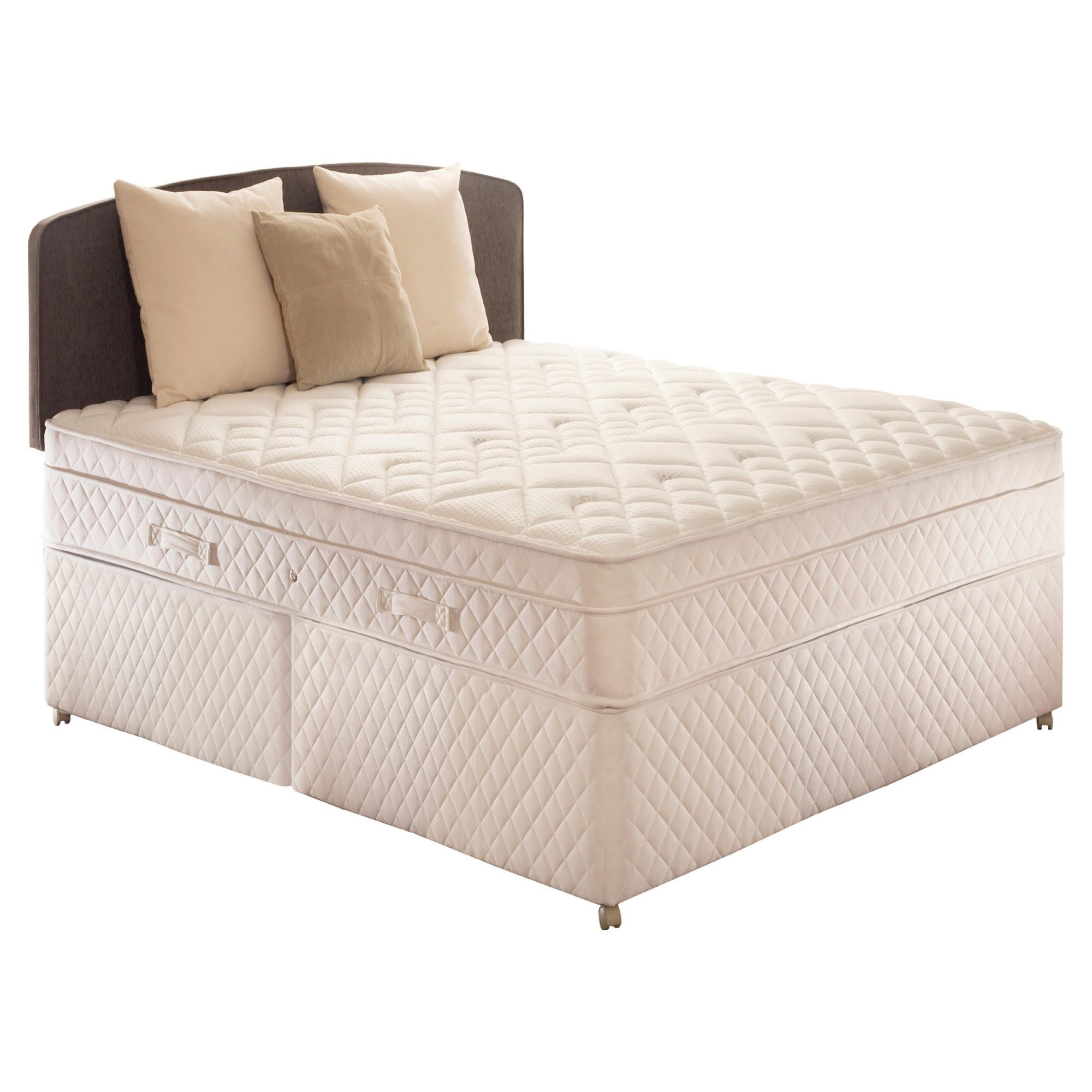 Sealy Diamond Excellence Double Non Storage Divan Bed at Tescos Direct