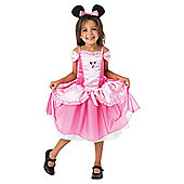 Minnie Mouse Pink Ballerina - Child Costume 5-6 years