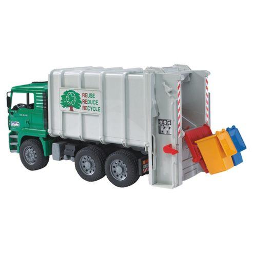 Man Tga Garbage Truck