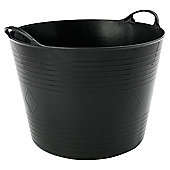 Tesco flexi tub, black
