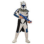 Star Wars Clone Trooper Captain Rex Large 8-10 years