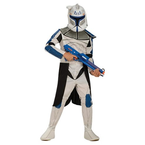 Star Wars Clone Trooper Captain Rex Large 8-10 years