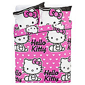Hello Kitty Duvet Set Double