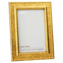Tesco Antique Gold Look Frame 4x6