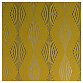 Dulux Graphika Wallpaper, Mustard