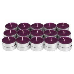 Tesco damson and pomegranate tealights, 30 pack