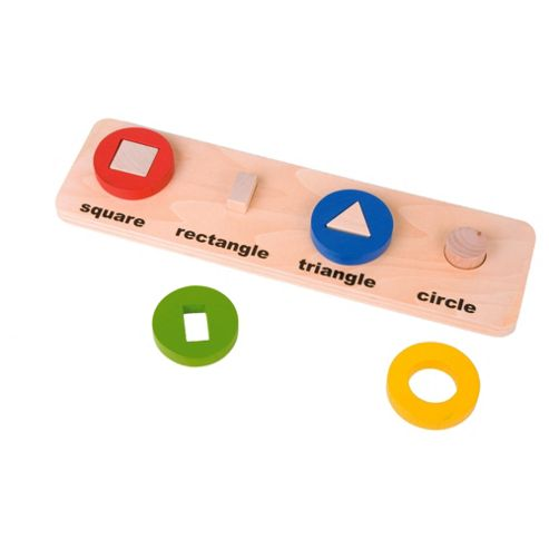 Shapes 'n' Circles Wooden Toy