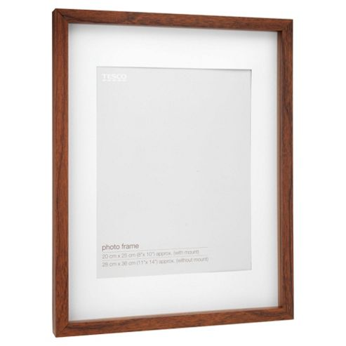 Tesco Dark wood Frame 11