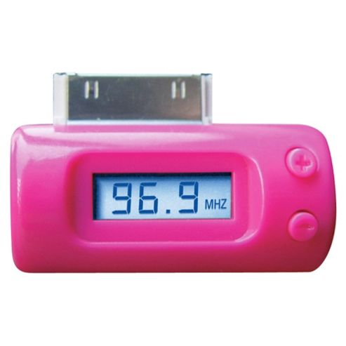 3G FM Transmitter iPhone 3GS/4/4S Pink