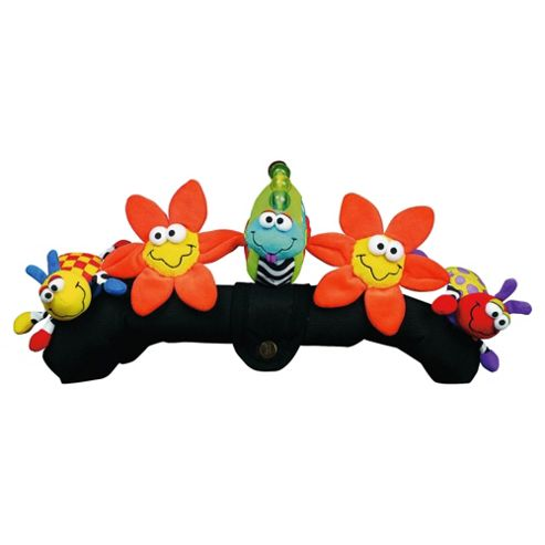 Playgro Pram & Pushchair Tie, Amazing Garden