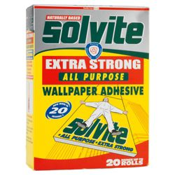 Solvite Wallpaper Paste 20 Roll Box