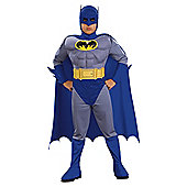 Batman Brave & The Bold Muscle Chest Fancy Dress Outfit, Medium